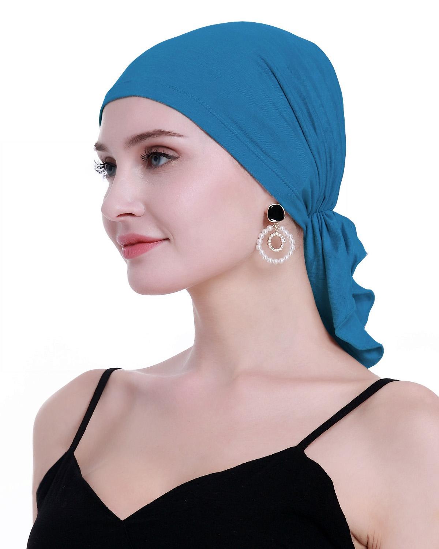 Cancer Slip On Headwear Turbans Sealed Packaging osvyo Bamboo Chemo Headscarf for Women Hair Loss